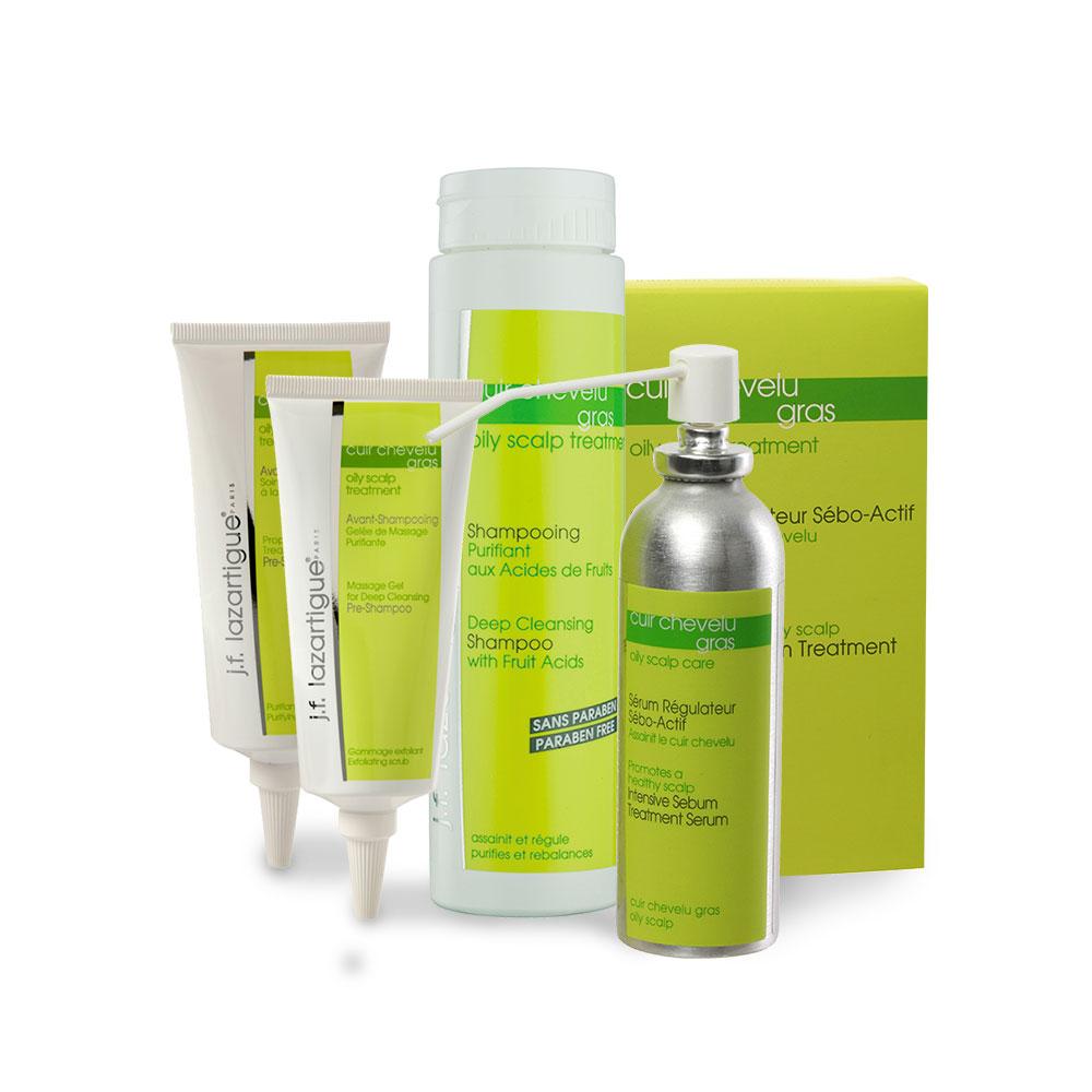 JF Lazartigue Oily Scalp Treatments Lepolita